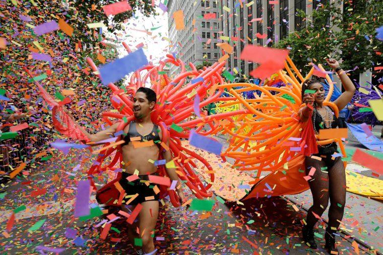 Pride Parades, San Francisco, USA - 25 Jun 2017
