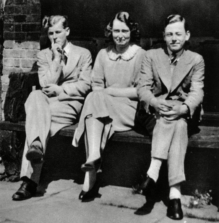 Prince Philip at Lynden Manor with His Cousins, 1936
