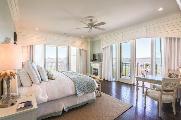 Room 1326 at The Beach Club at Charleston Harbor Resort and Marina, Charleston, South Carolina