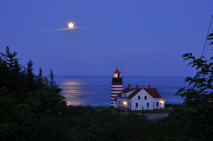 West Quoddy Lighthouse Maine