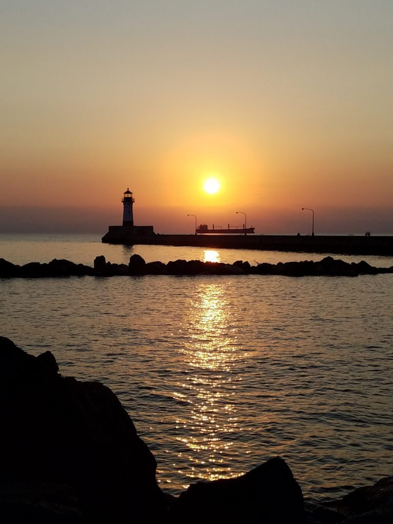 lighthouse Duluth Michigan