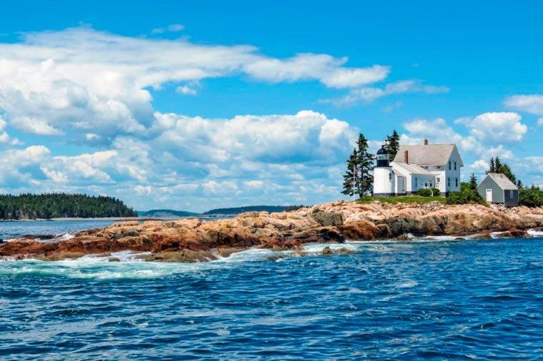 new england lighthouse acadia national park
