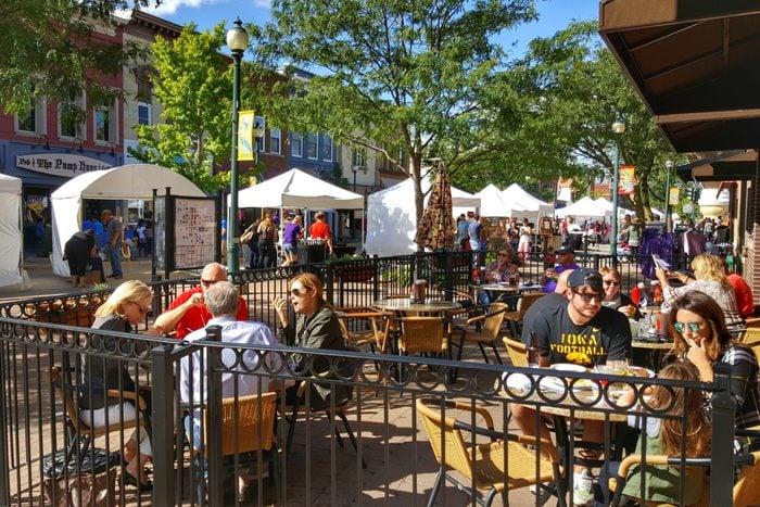Cedar Falls Iowa Main Street