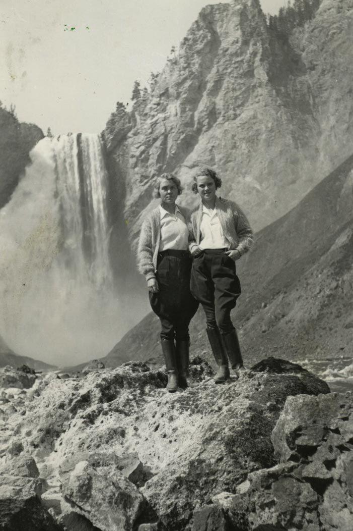 lower falls yellowstone national park