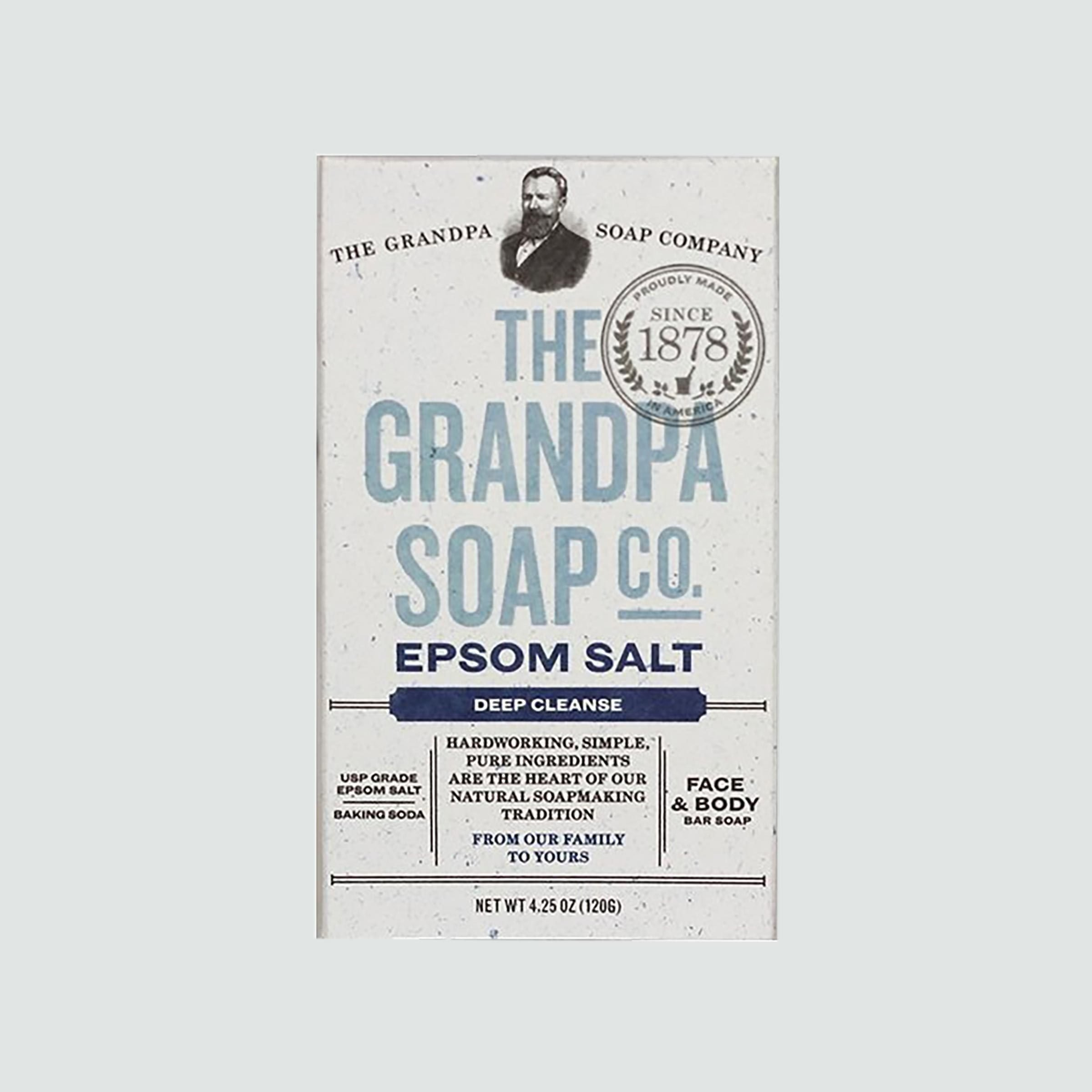 The Grandpa Soap Company Epsom Salt & Baking Soda Bar Soap Set