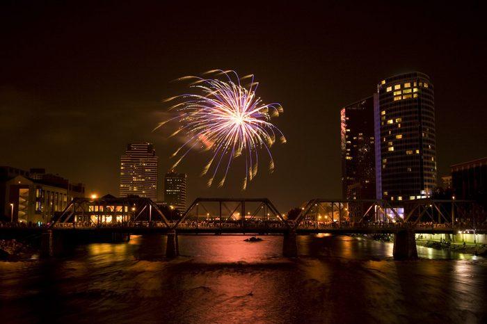 Fireworks Show Grand Rapids Michigan 4th of July