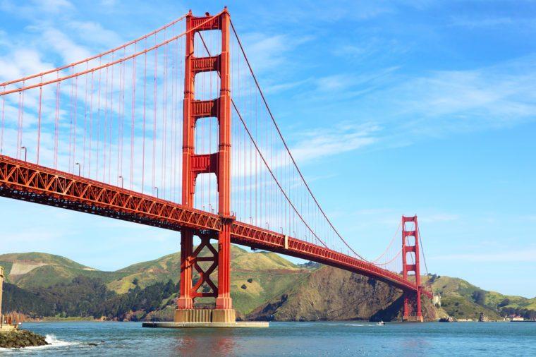 Golden Gate Bridge in San Francisco, California, USA
