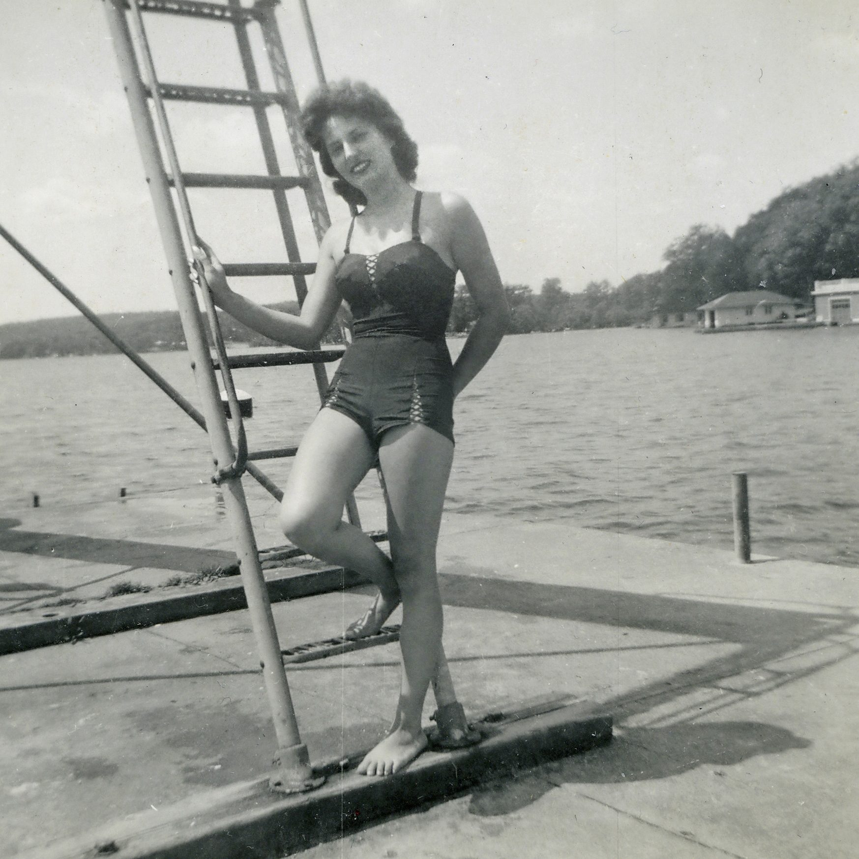 vintage swimsuit photo