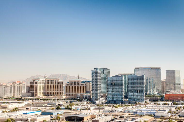 Panorama of Las Vegas, Nevada, USA