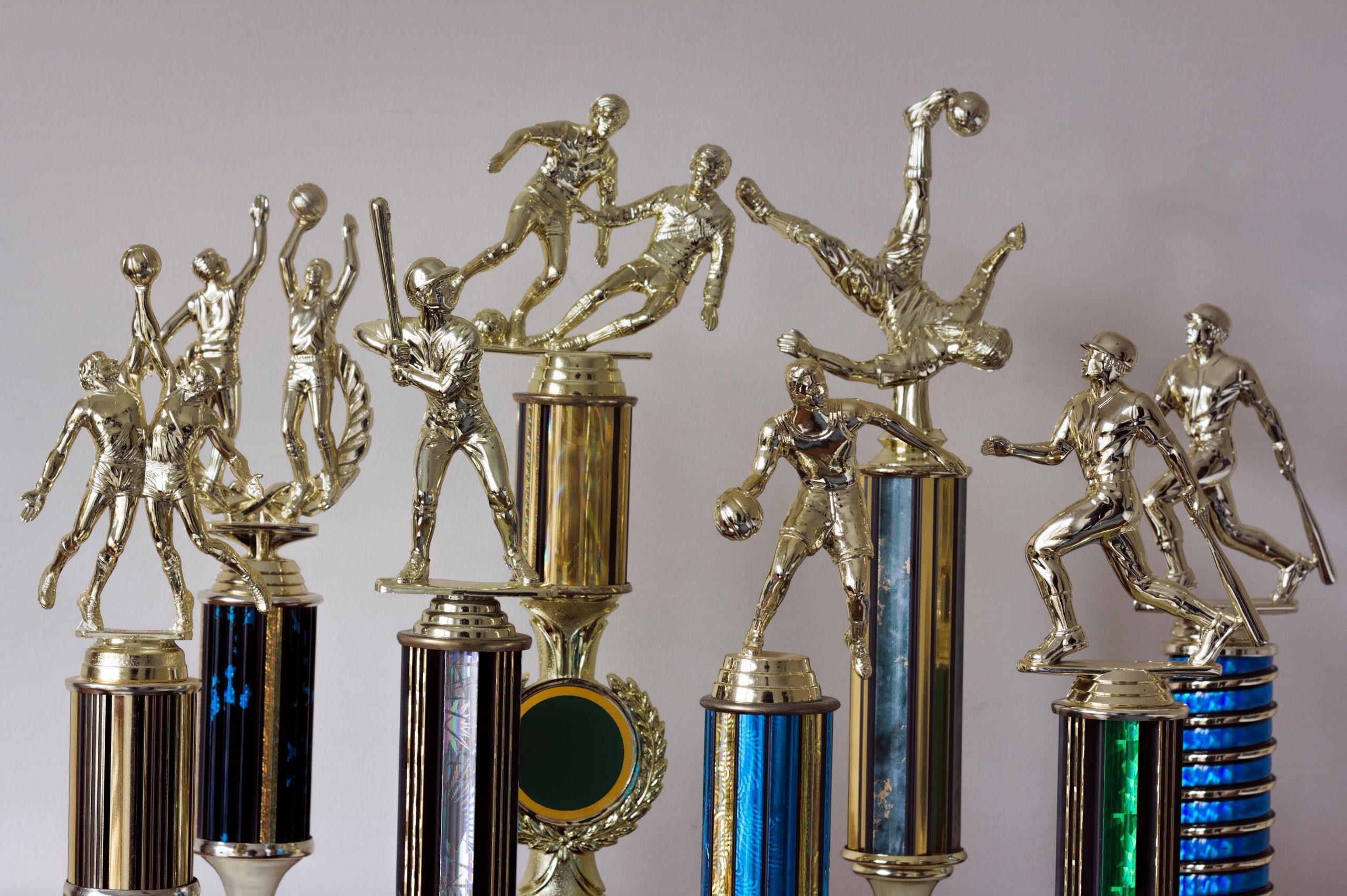 Multiple Sports Trophies