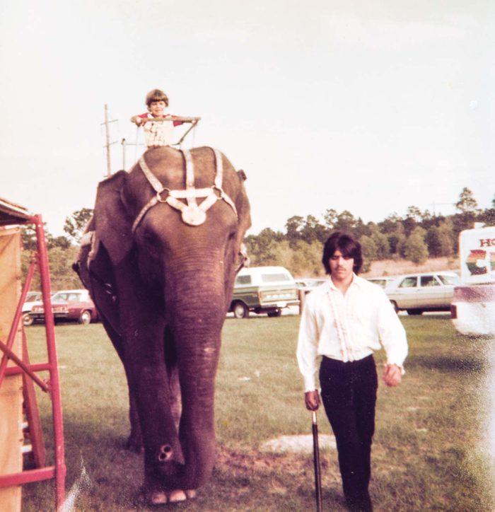 growing up circus memories-riding high