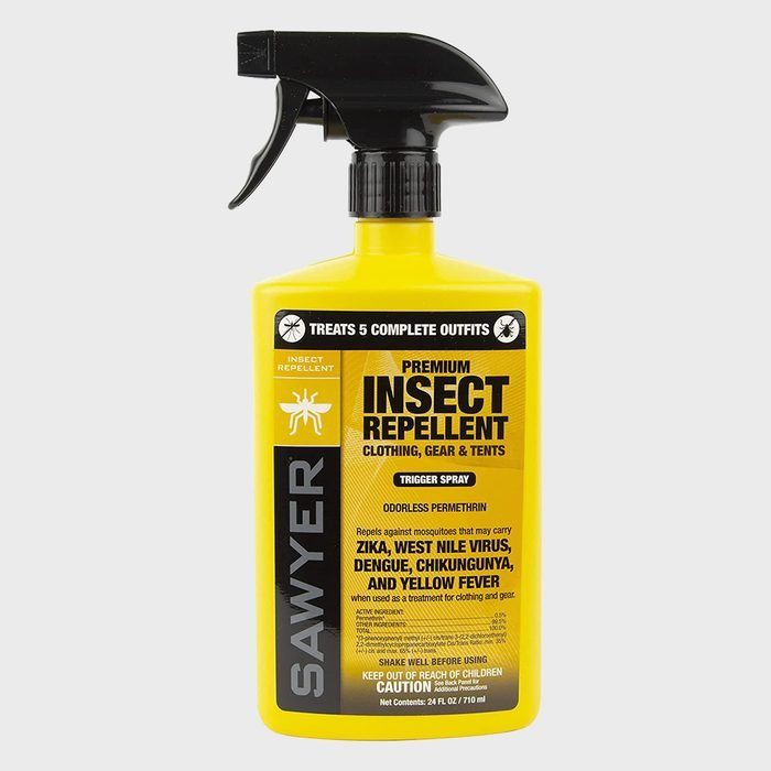 Sawyer Products Premium Permethrin Insect Repellent For Clothing Gear And Tents