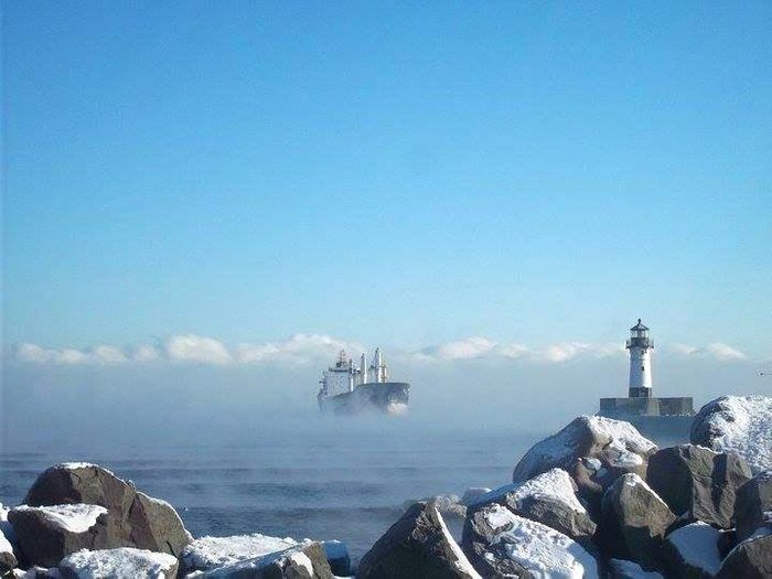 The 17 Best Snapshots from Road Trips Across America, Duluth Harbor, Minnesota