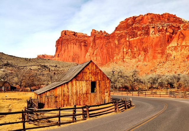 The 17 Best Snapshots from Road Trips Across America, Capitol Reef National Park, Utah