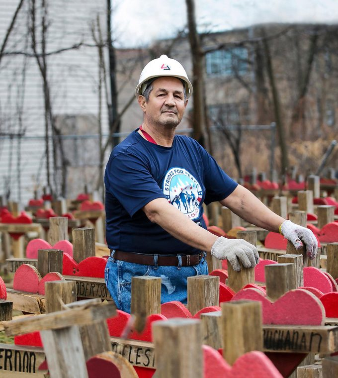 This Carpenter Built Memorials for Victims of Violence—Then Tragedy Struck Close to Home