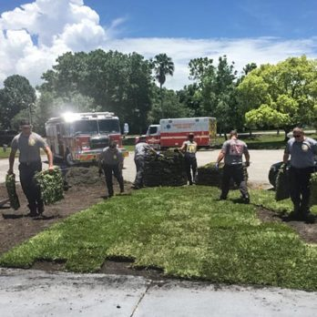 After Saving a Man's Life, These First Responders Returned to His Home to Finish a Project He Couldn't