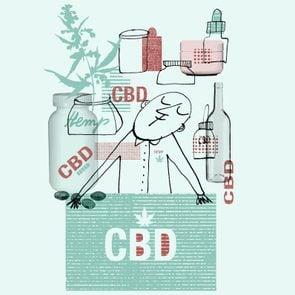 CBD illustration by Serge Bloch