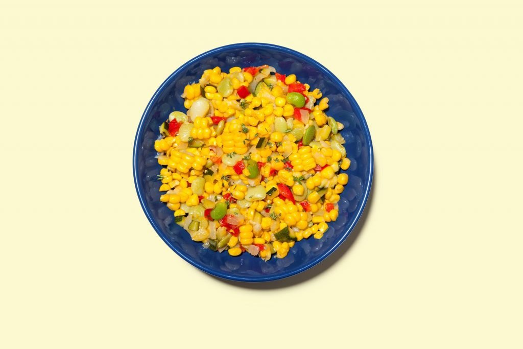 Succotash from Summer Corn