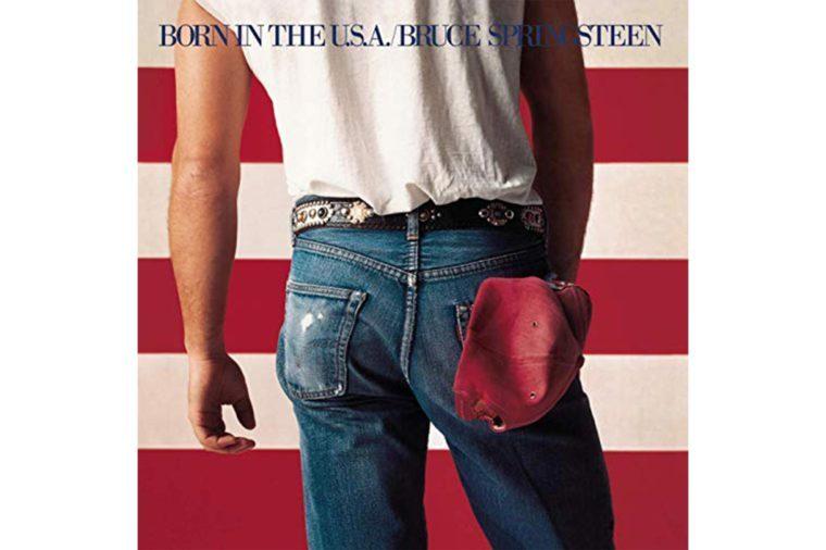 bruce springsteen born in the usa album cover
