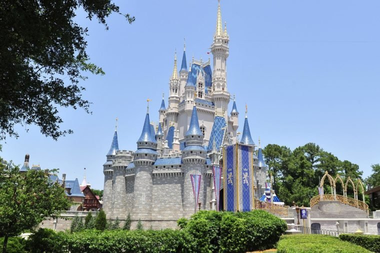 disney castle world florida