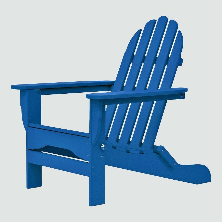 Three Posts Hartington Plastic Folding Adirondack Chair