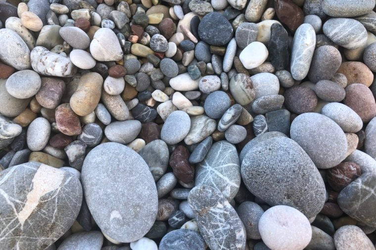 colorful beautiful stones background texture
