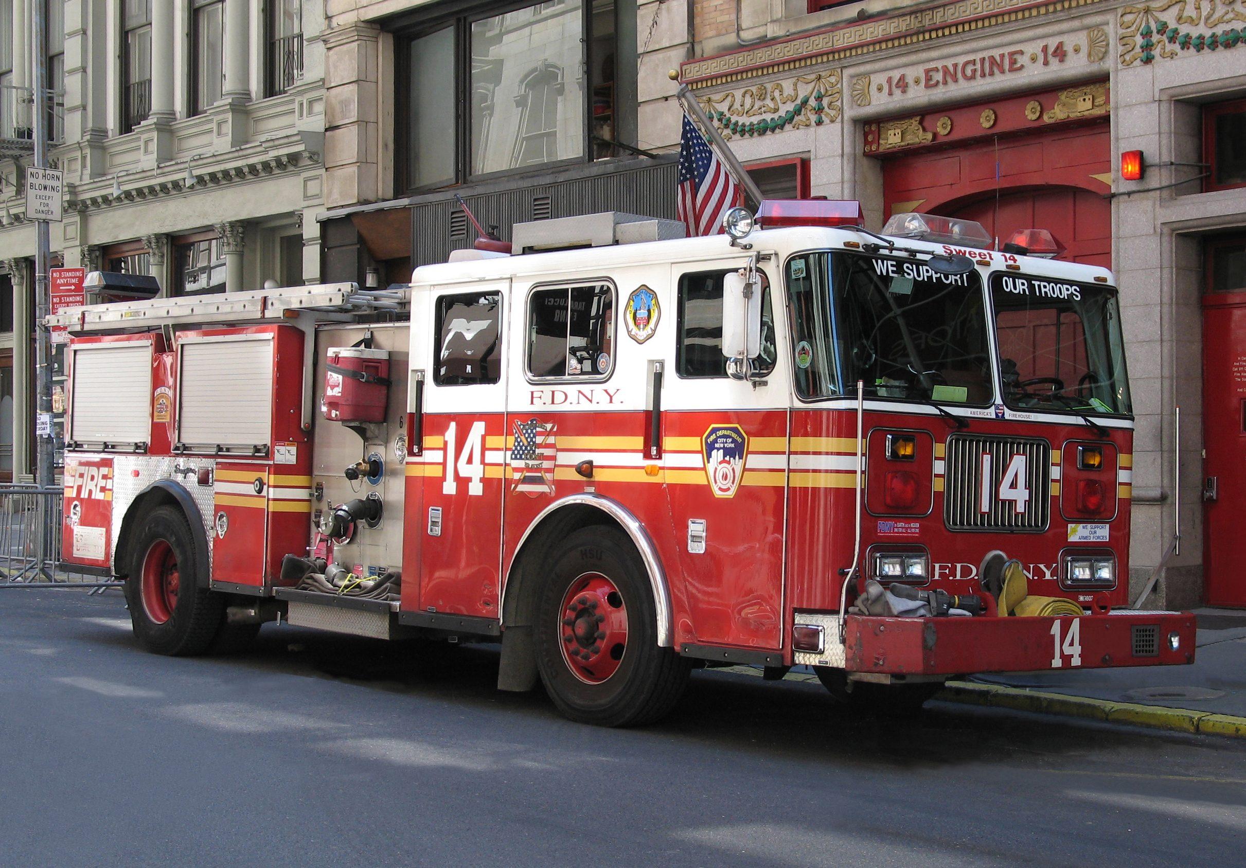 New York City Fire truck