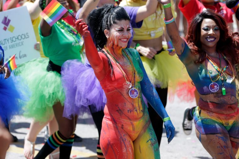 Gay Pride , Miami Beach, USA - 09 Apr 2017