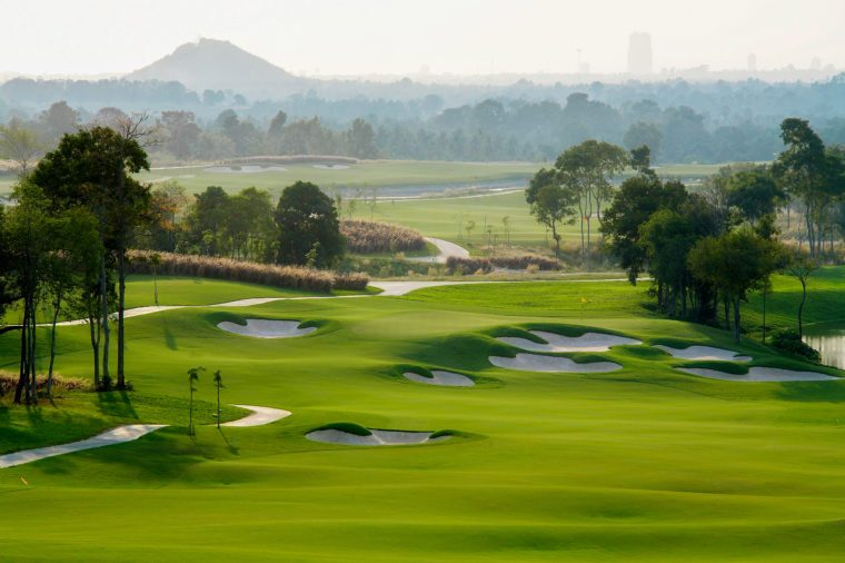 golf course sport, Golfing Holidays in Thailand