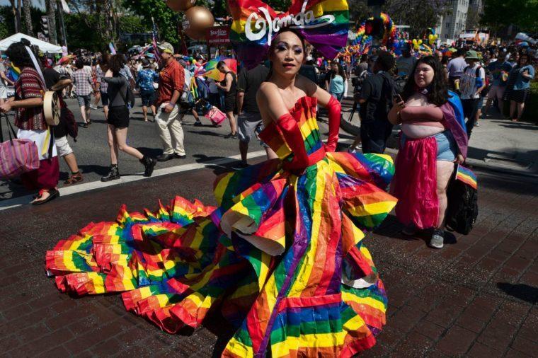 Los Angeles Pride Parade, West Hollywood, USA - 09 Jun 2019
