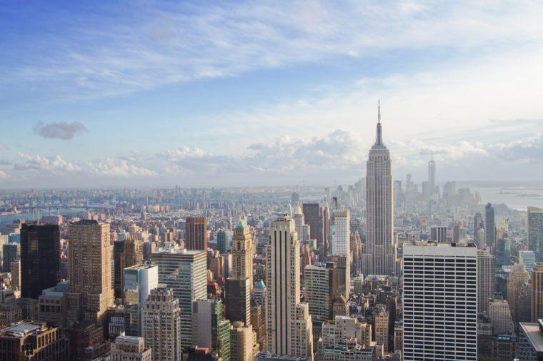 beautiful view of New York city