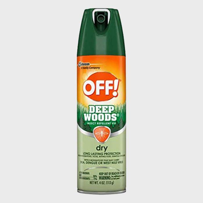Off Deep Woods Bug Spray & Mosquito Repellent
