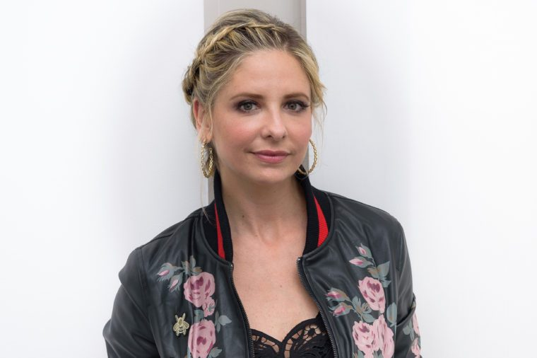 Sarah Michelle Gellar Portrait Session, New York, USA - 5 Apr 2017
