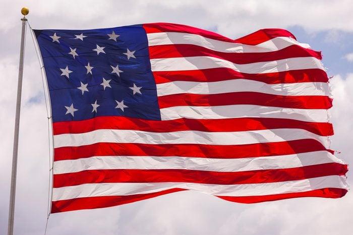star spangled banner flag usa