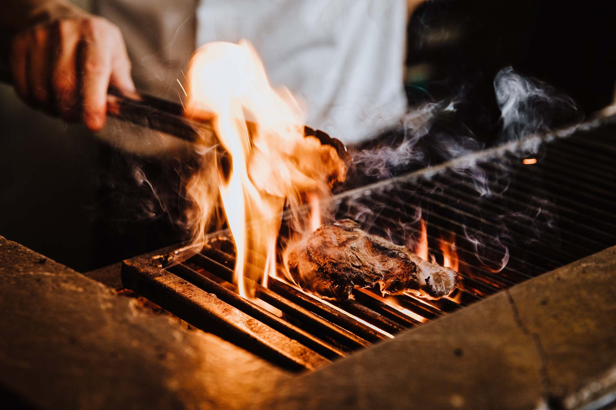 grill fire