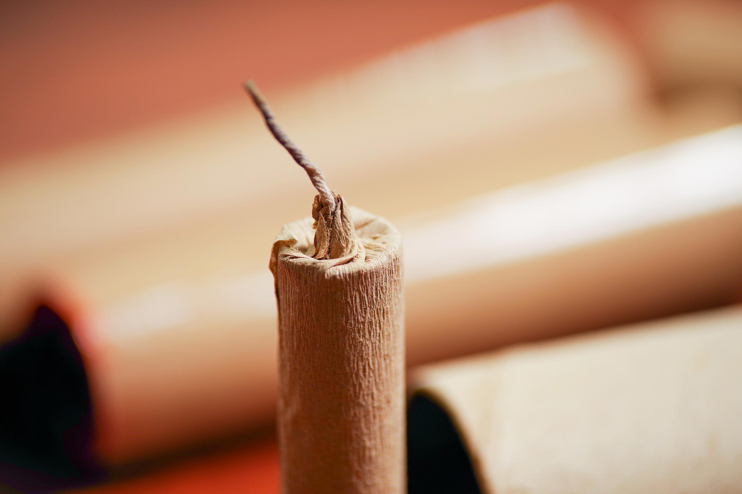 brown paper firework