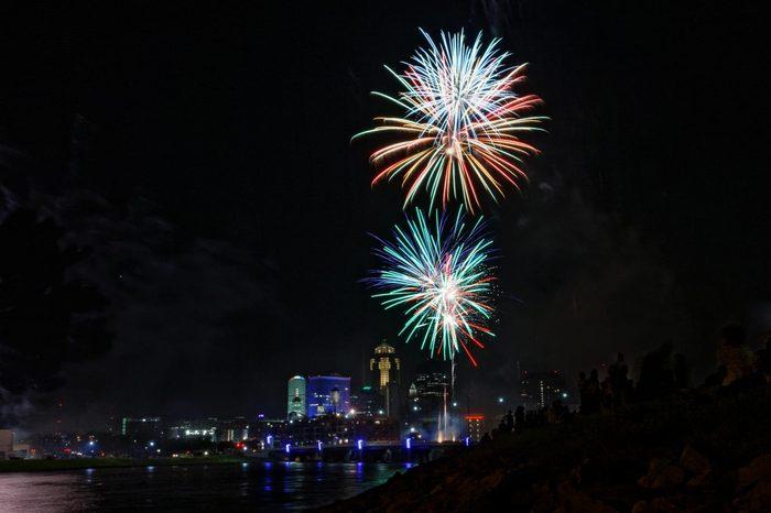 Des Moines, Iowa fireworks
