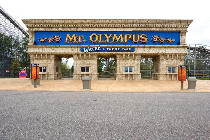 Mt. Olympus water and theme park.