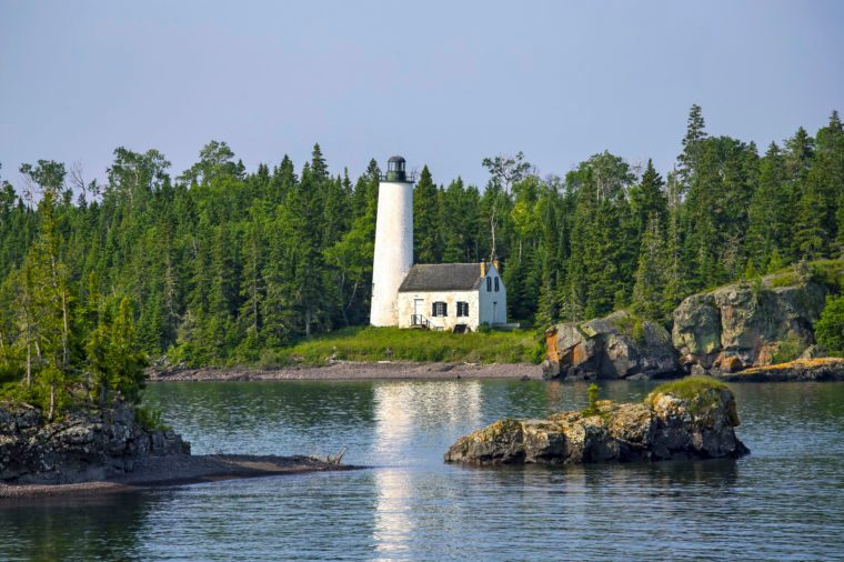 Rock Harbor Lighthouse Isle Royale National Park, Michigan