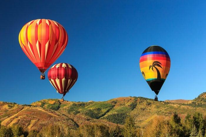 hot air balloons park city utah