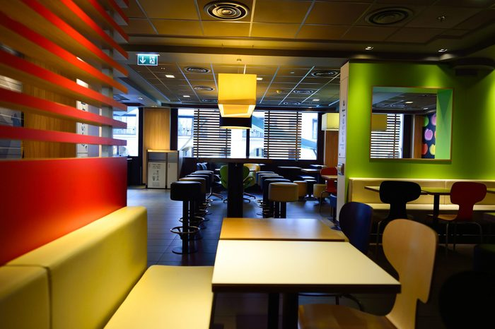 McDonald's restaurant interior