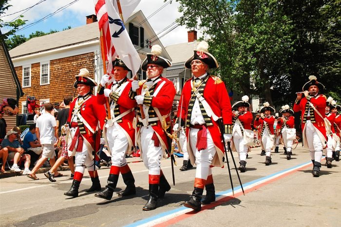 British red coats