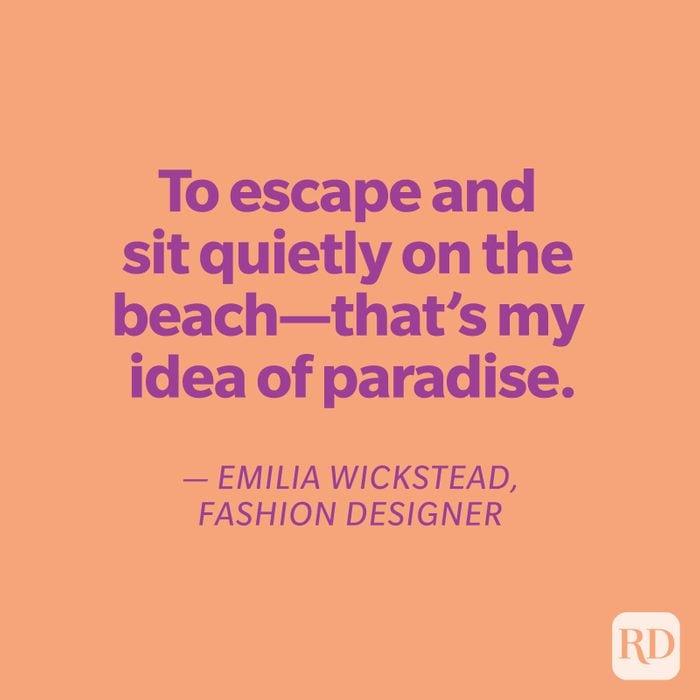 Wickstead quote on orange