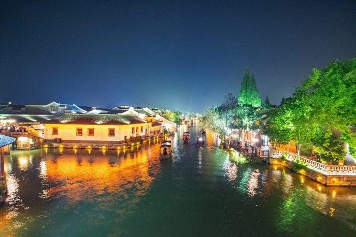 Wuzhen Water Town, Zhejiang Province, China - 02 May 2018