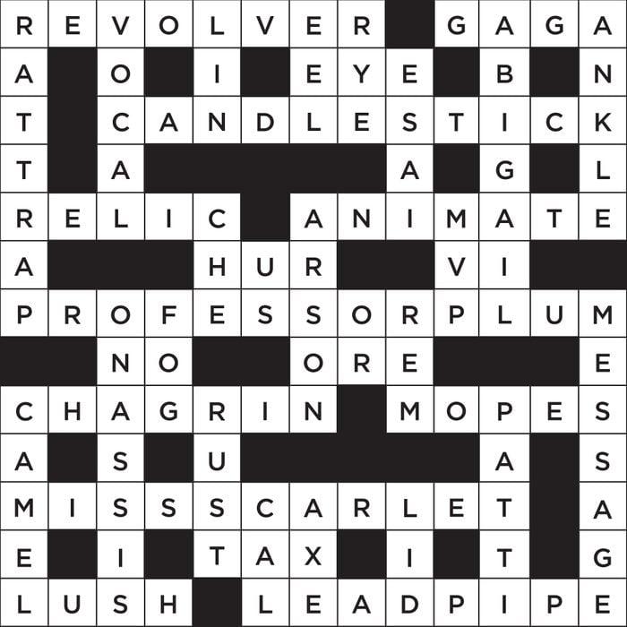 clue theme crossword answer