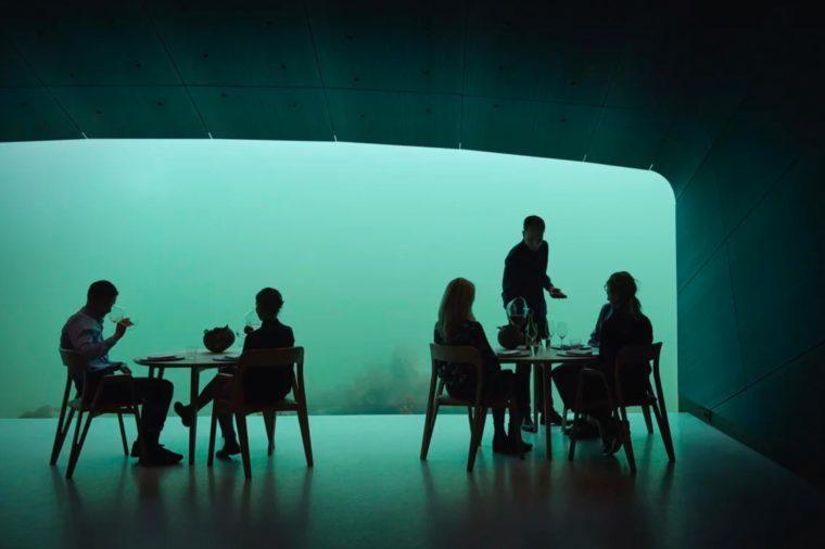 under restaurant norway