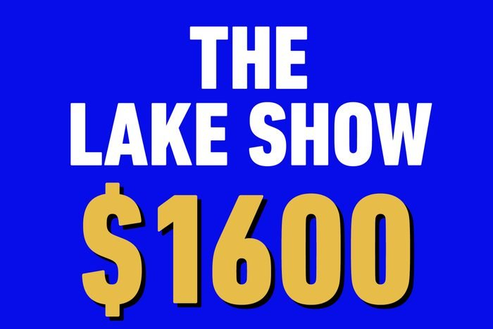 the lake show 1600