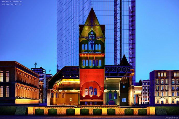 trinity church cutaway