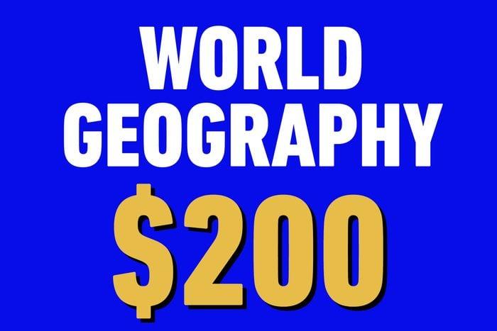 world geography 200