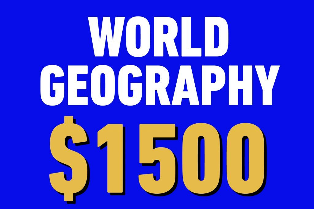 world geography 1500